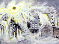 Burchfield Painting